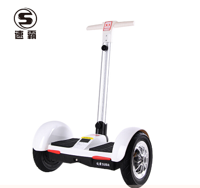 速霸Suba X3 高端智能益智休闲娱乐自平衡带扶杆平衡车